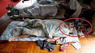 10 Potret Gaya Hidup Pesumo Jepang, Tidur Harus Pakai Masker Oksigen!
