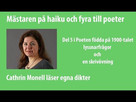 """Poddtrailer för avsnitt 48 i Poetpodden: """"Mästaren på haiku och fyra till poeter"""""""