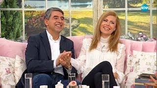 ЕКСКЛУЗИВНО: Първо ТВ интервю на Банова и Плевнелиев като двойка