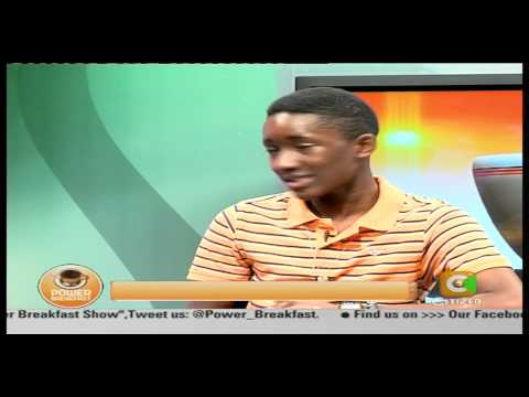 Power Breakfast Interview with Ian Munene a.k.a Almasi