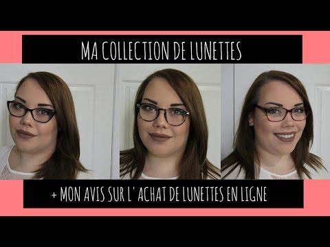1c6e6752b3 Ma collection de lunettes | Mon avis sur l'achat de lunettes en ligne -  YouTube