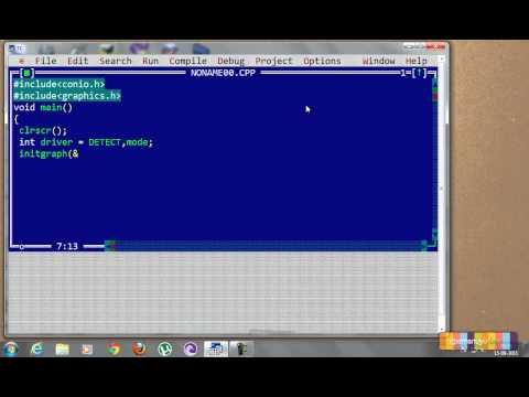 Create a Basic Graphics Program in C++
