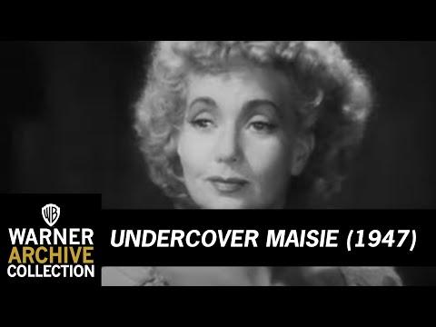 Undercover Maisie (Original Theatrical Trailer)