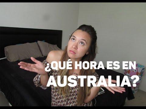 ¿Qué Hora Es En Australia?   Acá En Australia
