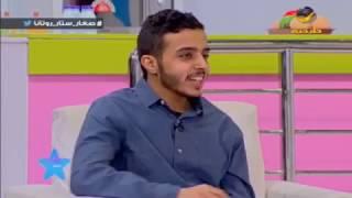 عبدالله المطيري المتطوع في فريق كن صديقي يقص على الأطفال قصة جميلة