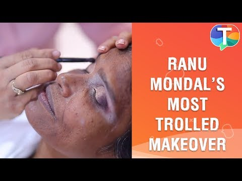 Watch Ranu Mondal S Makeup Video Behind The Scenes Youtube