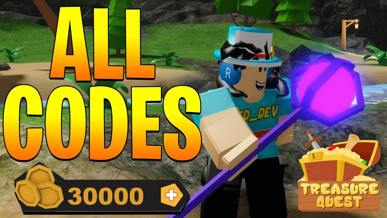 Treasure Quest Codes – Roblox (August 2019) –