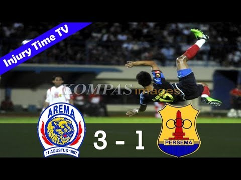 Arema Malang 3-1 Persema Malang | ISL 2009/2010 | All Goals & Highlights