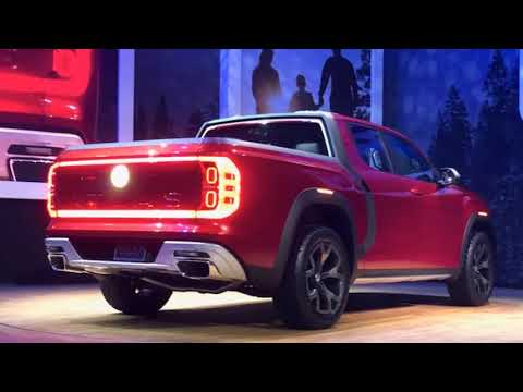BREAKING NEWS !!! VW Atlas Tanoak Truck Concept Debuts in NYC