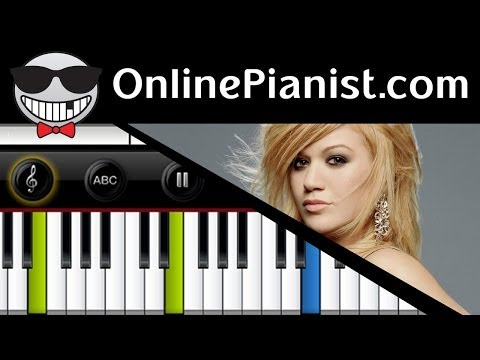 Kelly Clarkson - Underneath The Tree Piano Tutorial