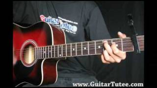 Enrique Iglesias - Wish I Was Your Lover, by www.GuitarTutee