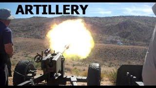 BIGGEST GUNS  of Big Sandy Machine Gun Shoot