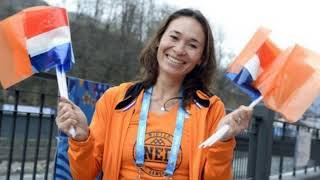 Bibian Mentel , on snowboard for the Netherlands at the Winter Paralympics, Bibi mentel