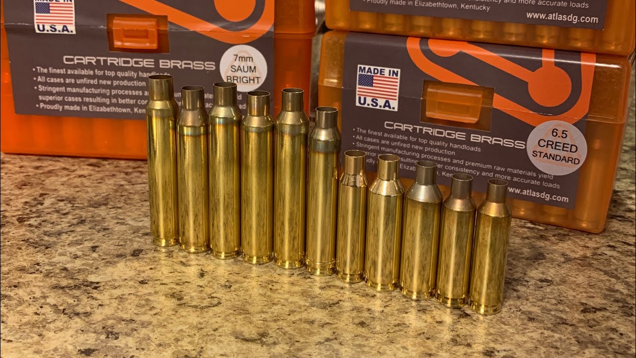 ADG Brass New for 2019 Cartridges!