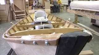 Kelly Walsh Hs Seniors Build A Boat
