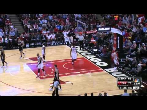 Cory Jefferson air ball against Chicago (12-10-14)