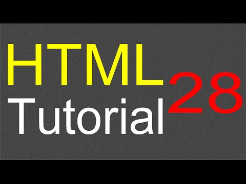 HTML Tutorial For Beginners - 28 - Video Element