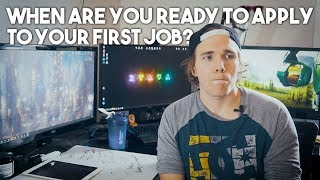 When do you apply for your first job? (Software Development)