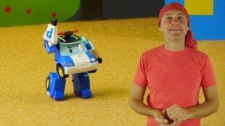 Robocar Poli Rescue Team Toys Disco Dance!