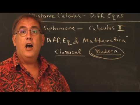 Distance Calculus: Differential Equations