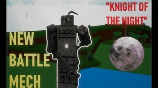 🌑*INSANE* New MECH I Created! (BATTLE RAGDOLL)🌑| Roblox Build a Boat for Treasure