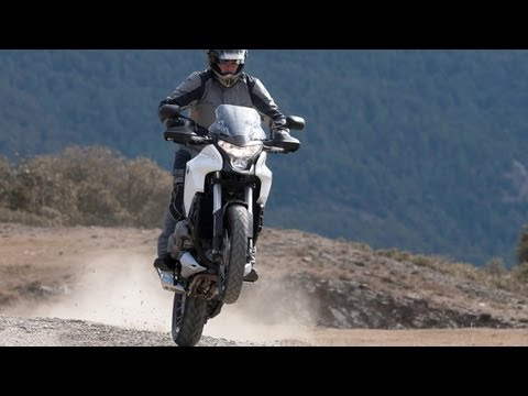 Honda Crosstourer Test Ride - Action Video