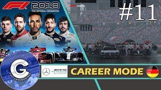 Let's Play F1 2018 Career Mode   Mercedes Career #11   TAKING A HUGE GAMBLE