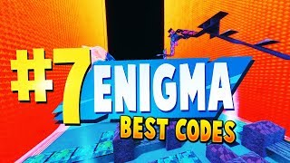 TOP 7 BEST ENIGMA Zone Wars Creative Maps In Fortnite | Fortnite Enigma Map CODES