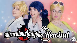 Cover images Miraculous Ladybug and Chat Noir Cosplay Music Video - Time Hop ⏰💖