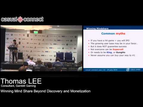 Winning Mind Share Beyond Discovery and Monetization | Thomas LEE