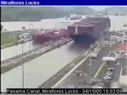 Panama Canal (Fast Forward)