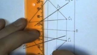Пересечение прямой и плоскости