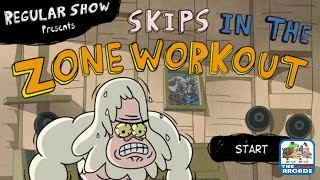 Regular Show: Skips in the Zone Workout - All Flex Zone (Cartoon Network Games)