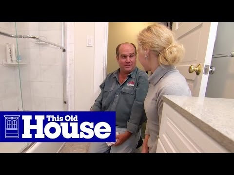 How to Detect and Fix a Bathroom Leak  This Old House  YouTube