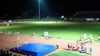 4x400m men final (SHORT VERSION) - SEA Games 2011