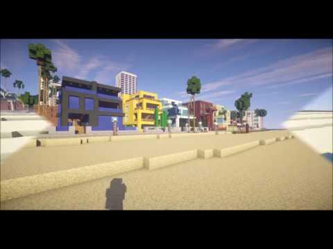 Minecraft - Los Angeles Map (Santa Monica)