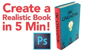 Create Realistic Book in Photoshop in 5 Minutes!
