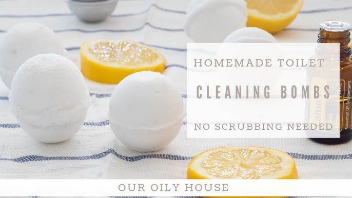 Diy Young Living Essential Oil Cleaning Fizzies Youtube