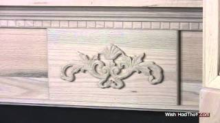 Red Oak Fireplace Mantels
