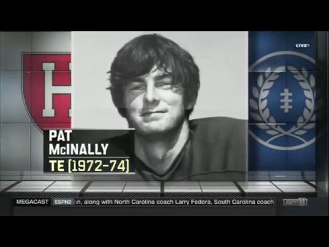 Pat McInally Inducted into the College Football Hall of Fame