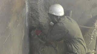 видео Устранение дефектов бетона