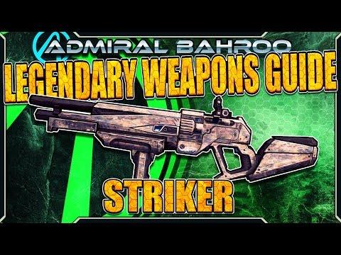 "Borderlands The Pre-Sequel: The ""Striker"" - Legendary Weapons Guide"