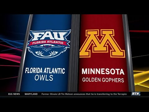 Florida Atlantic at Minnesota - Men's Basketball Highlights