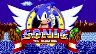 Sonic The Hedgehog Games (Sega Genesis) James & Mike Mondays
