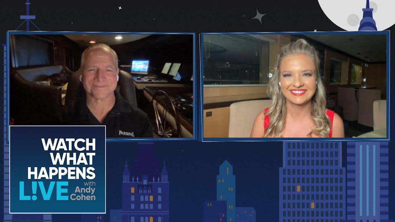 Capt. Glenn Shephard & Daisy Kelliher on Dani Soares' New Baby   WWHL