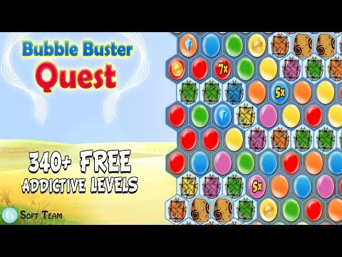 Bubble Buster Quest - G Soft Team Game
