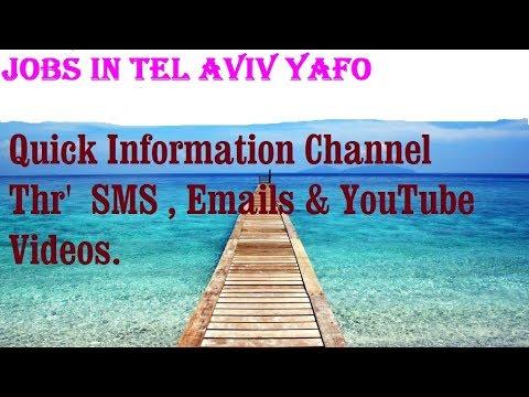 Jobs In TEL AVIV YAFO   City For Freshers \u0026 Graduates. Industries, Companies. ISRAEL