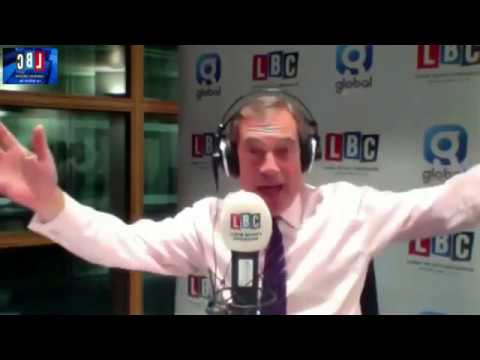 Nigel Farage Discusses Juncker's Upcoming EU Speech