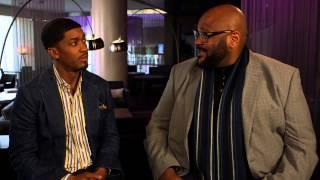 Ruben Studdard with Fonzworth Bentley | Was your American Idol contract
