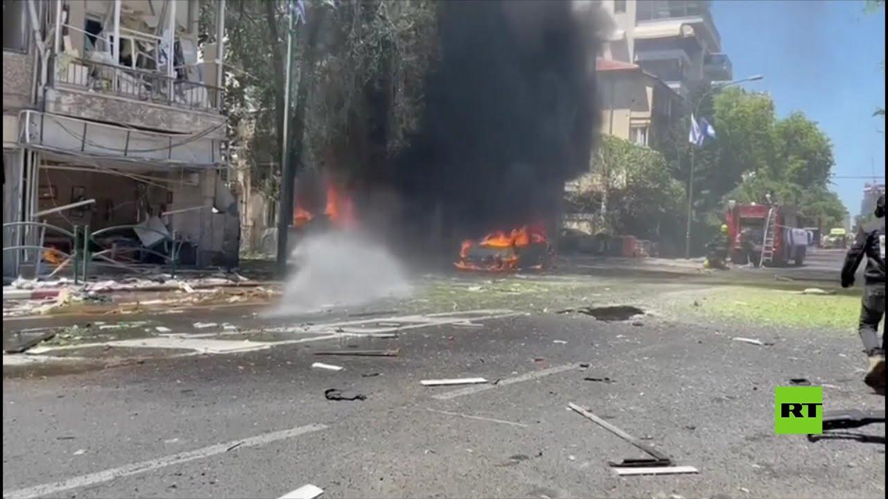 صفارات الإنذار تدوي قرب تل أبيب وسط هجمات صاروخية من غزة  - نشر قبل 8 ساعة